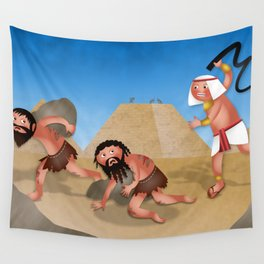 Jewish Slaves in Egypt Wall Tapestry