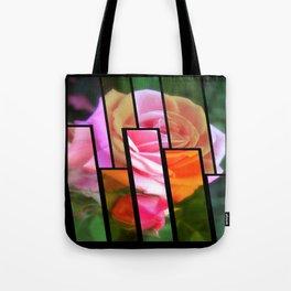 Pink Roses in Anzures 2 Tinted 1 Tote Bag
