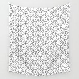 Deco Victrola Key Wall Tapestry