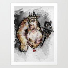 The Goblin King Art Print