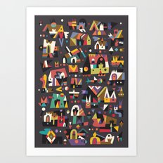 Schema 15 Art Print