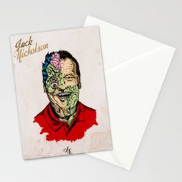Jack Nicholson Gore Stationery Cards