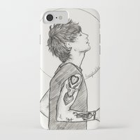 louis iPhone & iPod Cases featuring Louis by harrydoodles