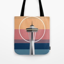 The Seattle Space Needle Tote Bag