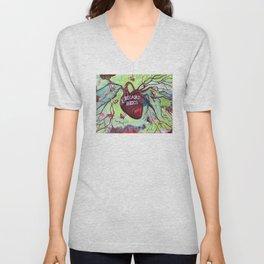 I Heart Bees Unisex V-Neck