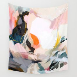 apricot dawn Wall Tapestry