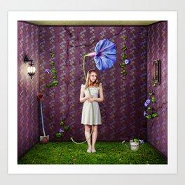 Indoor Gardener Art Print