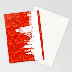 Cincinnati, Oh skyline   Stationery Cards