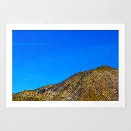 Industrialized Nature Art Print
