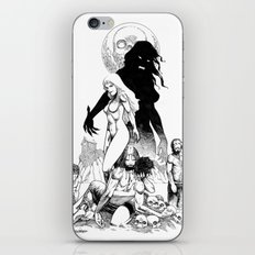 Island of the Vampire Witches iPhone & iPod Skin