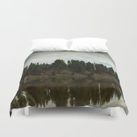 country Duvet Covers featuring Country  by Julie Luke