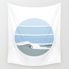 Surfer's Glory Day Wall Tapestry