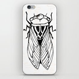 Cicadas on the Scribbly Gum iPhone Skin