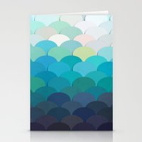 teal Stationery Cards featuring Teal by Julia Alison