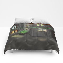 Old quarters 2 - free shipping Comforters