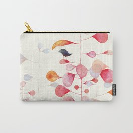 UNDER THE PINK LEAF Carry-All Pouch