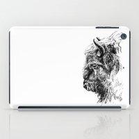 buffalo iPad Cases featuring Buffalo by Ingrid Restemayer