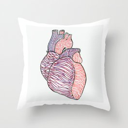 Cardiac Throw Pillow