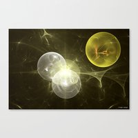 Canvas Prints featuring Nuclear Fusion by Roger Wedegis