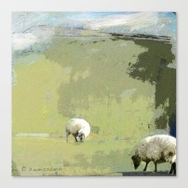 2 Sheep Canvas Print