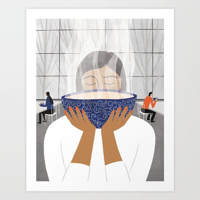 Ramen Love Art Print