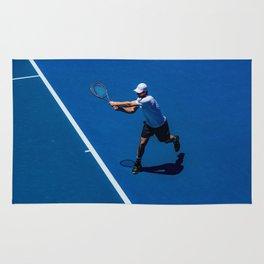 Tennis player Rug