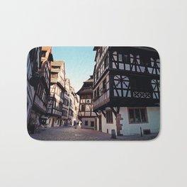 Strasbourg narrow streets Bath Mat