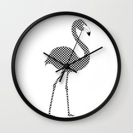 Statement Flamingo Wall Clock