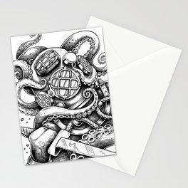Mark V Diver Stationery Cards