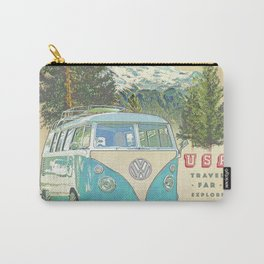 """""""Not all who wonder, are lost"""" vintage inspired print Carry-All Pouch"""