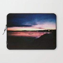 Snowy Sunset Laptop Sleeve