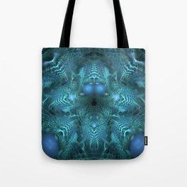 Juju Blue Tote Bag