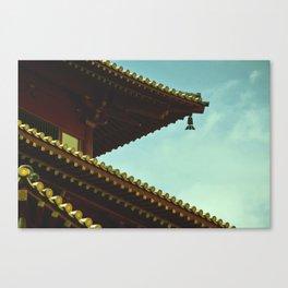 tile roof Canvas Print