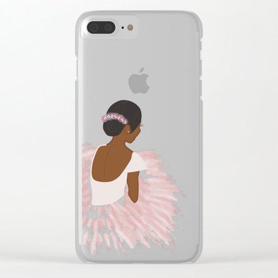 Ballerina Dancer  Clear iPhone Case