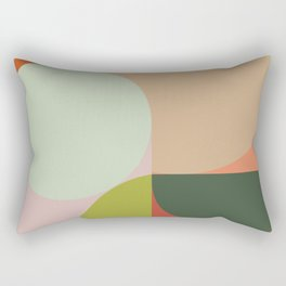 Abstract Geometric 2 #fallwinter #colortrend #decor Rectangular Pillow