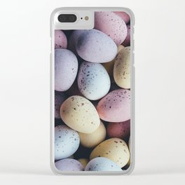 Soft boiled Clear iPhone Case