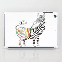 zebra iPad Cases featuring Zebra by gunberk
