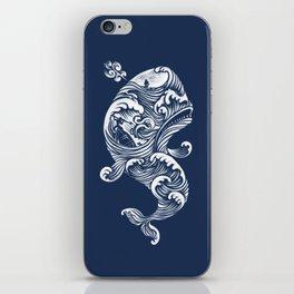 The White Whale  iPhone Skin