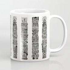 Tiki Totems – Black Mug
