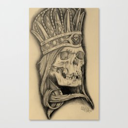 Rotting Royalty Canvas Print