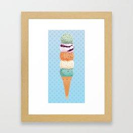 Summer Stack Framed Art Print