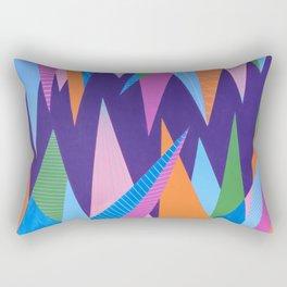 Crystal Stalagmites Rectangular Pillow