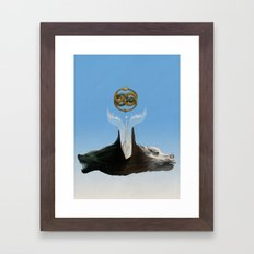 No Boundaries Framed Art Print