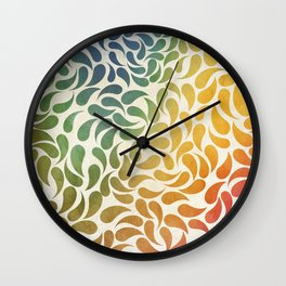 Petal Burst #29 Wall Clock