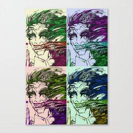 acidity pop art Canvas Print