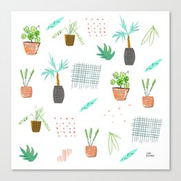 Botanica Pattern Canvas Print