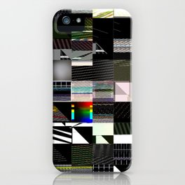 Abstract digitalism pt. I iPhone Case