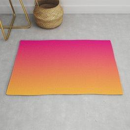 Ombre | Color Gradients | Gradient | Two Tone | Pink | Orange | Rug