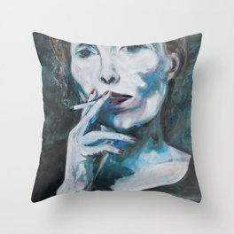 Constant in the Darkness Throw Pillow