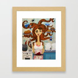 By Your Side Framed Art Print